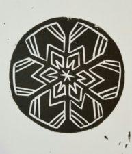 Solitary Snowflake
